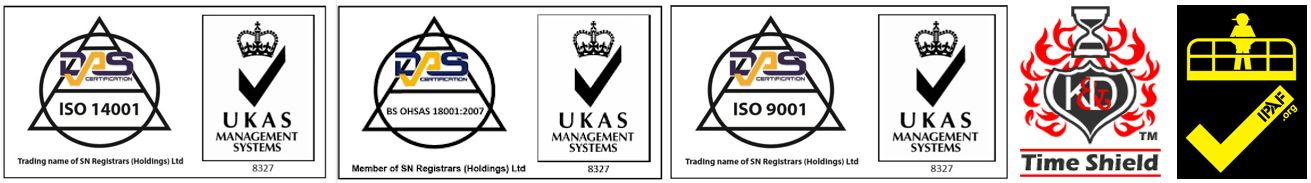 K&D Systems Accreditations